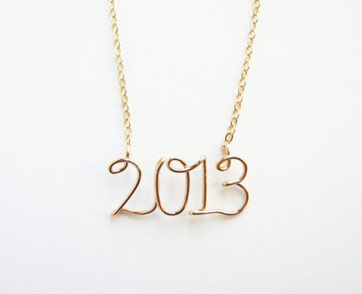 Necklace by Aziza Jewelry, click the photo to visit their shop.