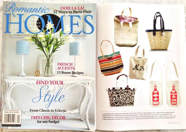 Romantic Homes Magazine, April 2013