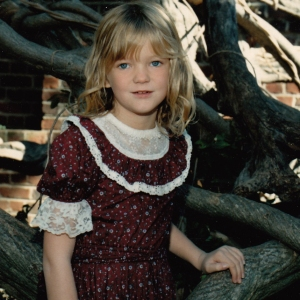 3rd grade me, looking awesome in my gunne sax dress.